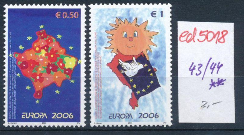 Kosovo  Nr. 43-44  **    (ed5018  ) siehe scan