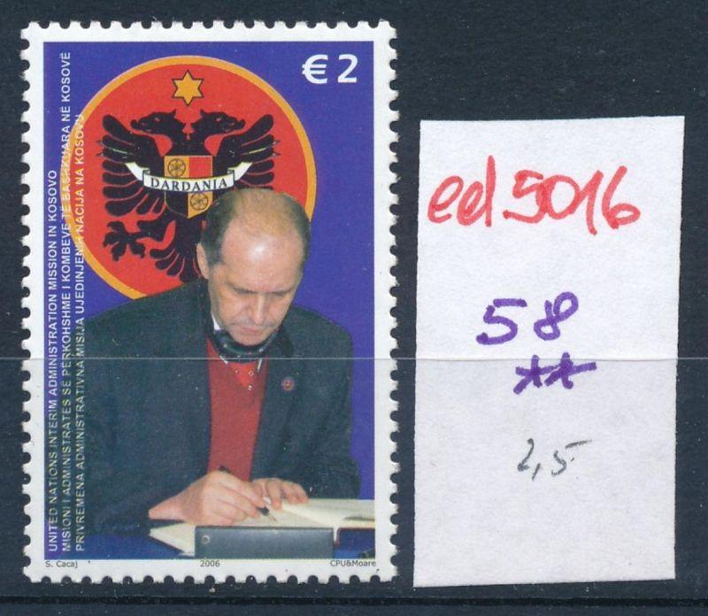 Kosovo  Nr. 58  **    (ed5016  ) siehe scan