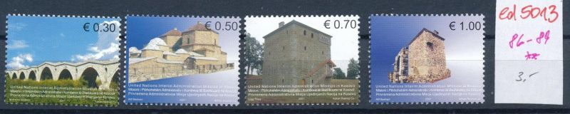 Kosovo  Nr. 86-9   **    (ed5013  ) siehe scan