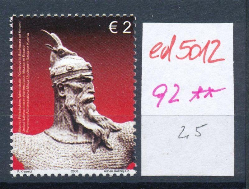 Kosovo  Nr. 92   **    (ed5012  ) siehe scan