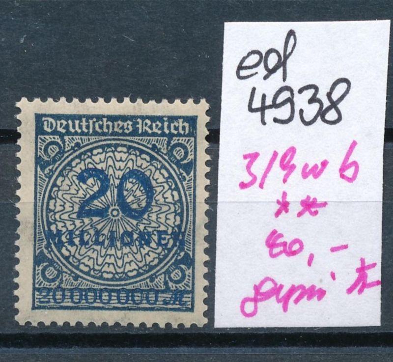 D.-Reich Nr.  319 w b  geprüft   **    (ed4938  ) siehe scan