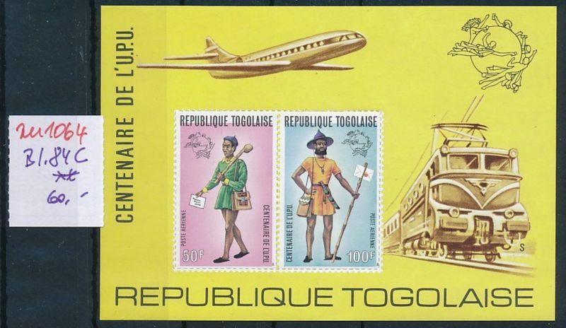Togo  Block  84 C   **   (zu1064  ) siehe scan