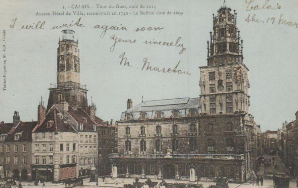 Calais  ...-alte Karte    (ka8567  ) siehe scan