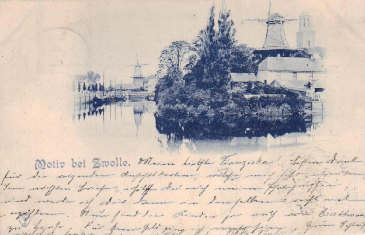 Zwolle .....-alte Karte    (ke 1495  ) siehe scan