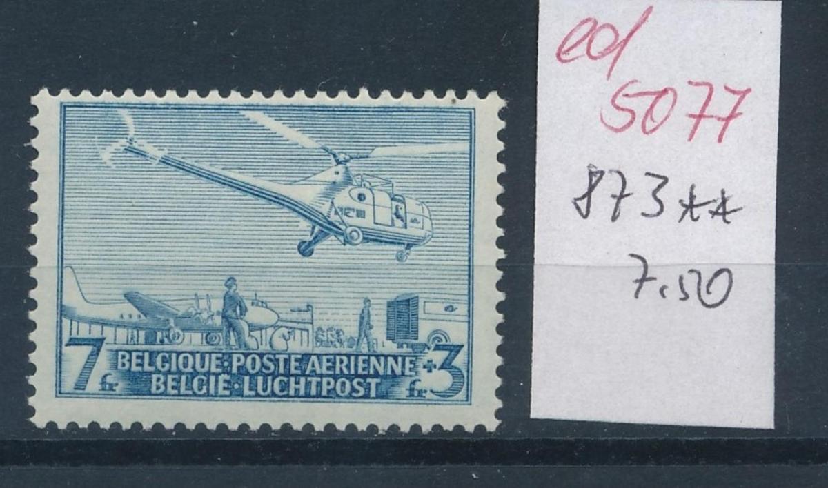 Belgien  Nr.  873   **  (ed5077  ) siehe scan