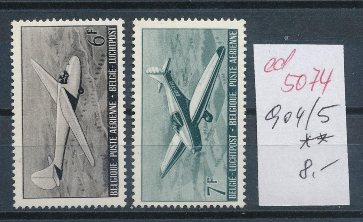 Belgien  Nr.  904-5   **   (ed5074  ) siehe scan