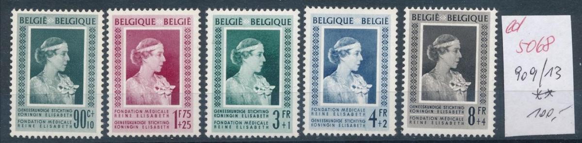 Belgien  Nr.  909-13   **   (ed5068  ) siehe scan