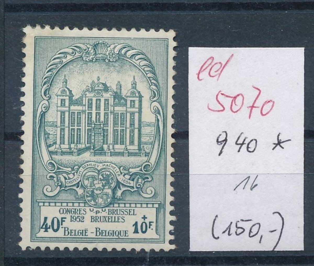 Belgien  Nr.  940 *   (ed5070  ) siehe scan