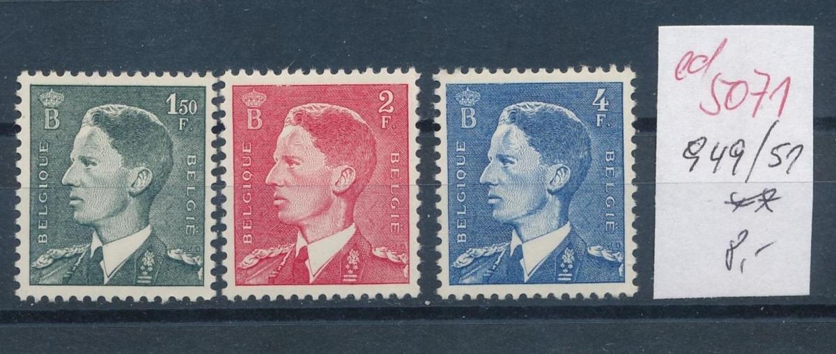Belgien  Nr.  949-51  **   (ed5071  ) siehe scan