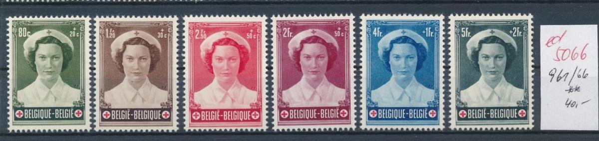 Belgien  Nr.  961-66   **   (ed5066  ) siehe scan