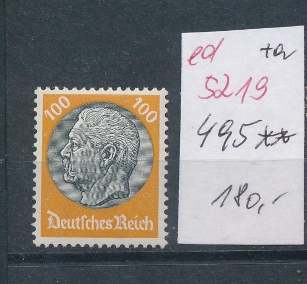 D.-Reich Nr.  495    **   (ed5219  ) siehe scan