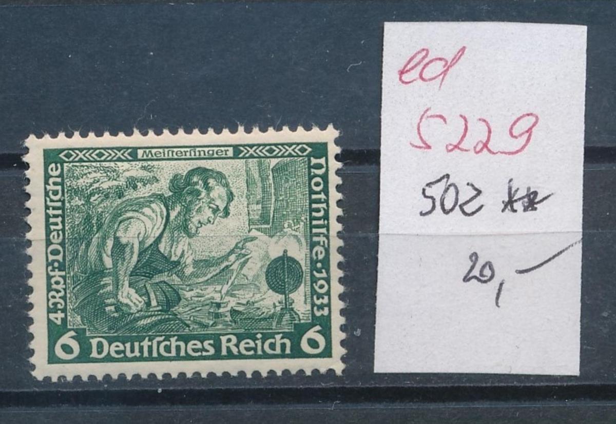 D.-Reich Nr.  502   **   (ed5229  ) siehe scan