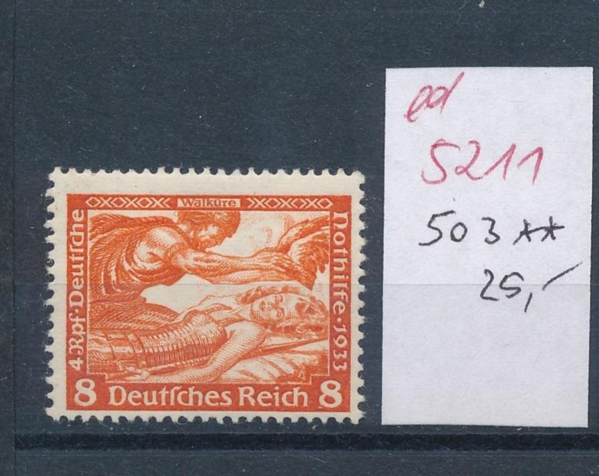 D.-Reich Nr.  503   **   (ed5211  ) siehe scan