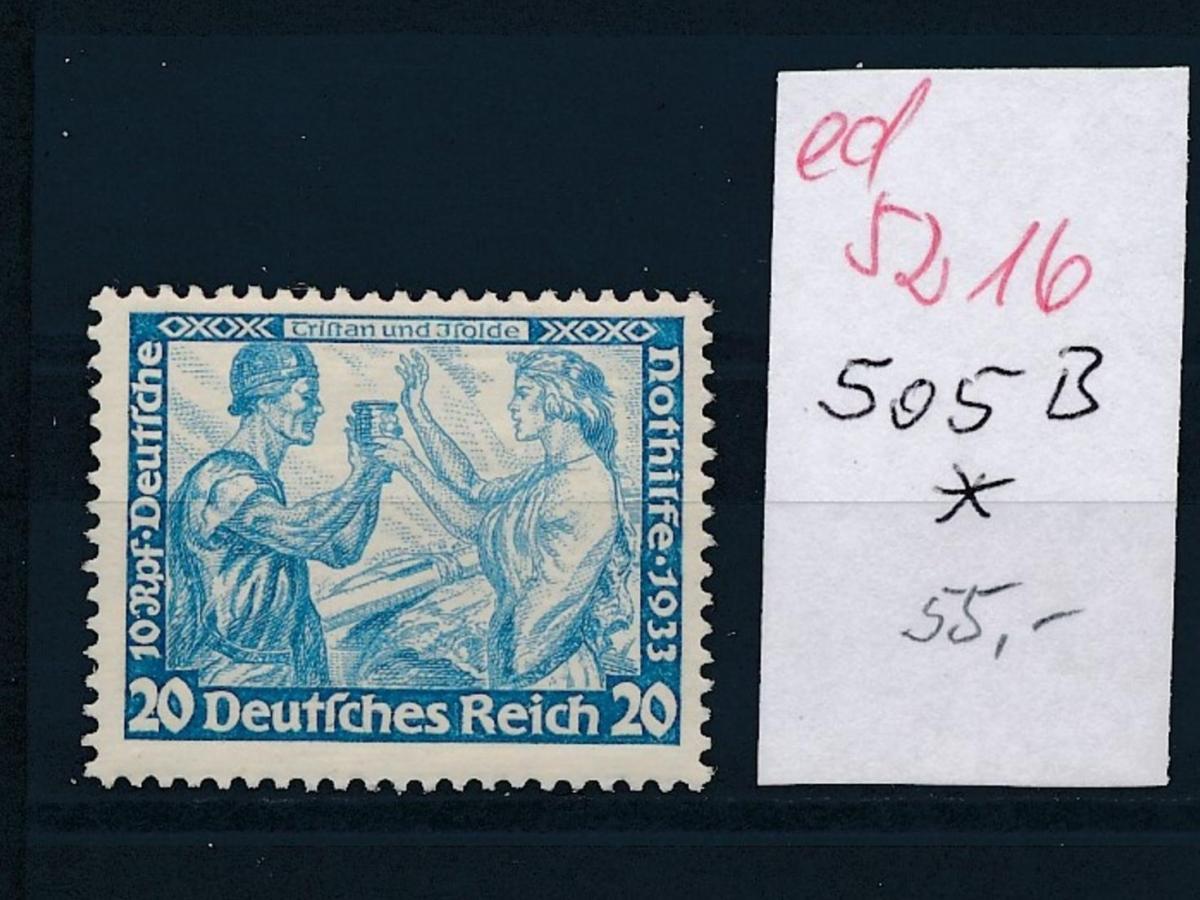 D.-Reich Nr.  505 B *   (ed5216  ) siehe scan