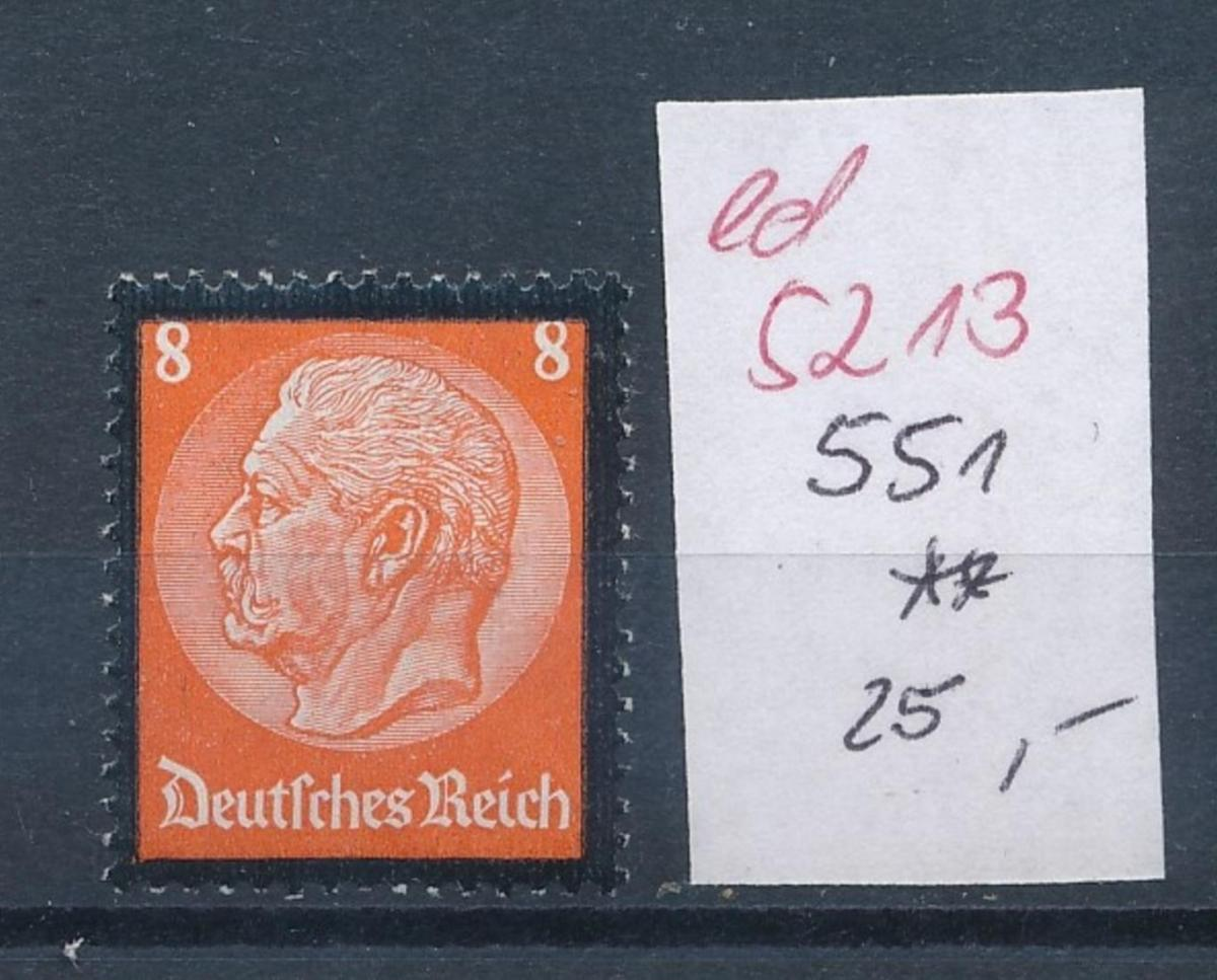 D.-Reich Nr.  551  **   (ed5213  ) siehe scan