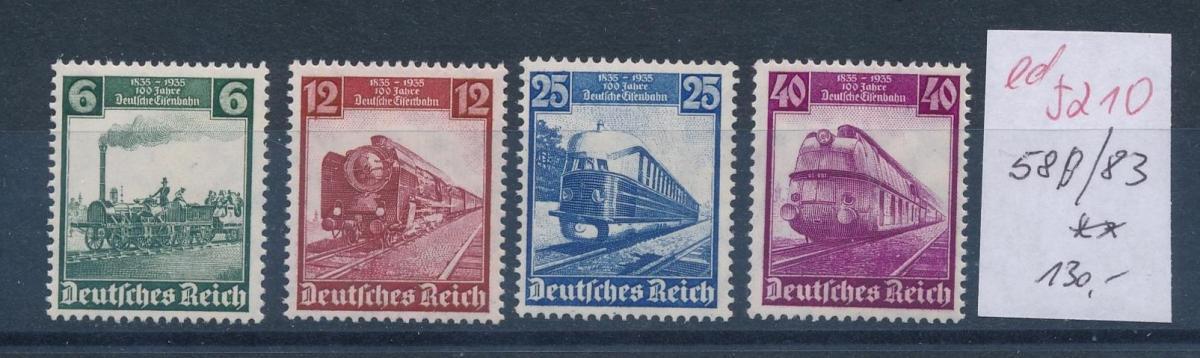 D.-Reich Nr.  580-3    **   (ed5210  ) siehe scan