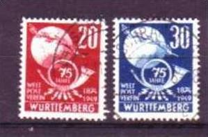 Franz.Zone Würtemberg Nr. 37  o-used (aa6161 ) siehe scan