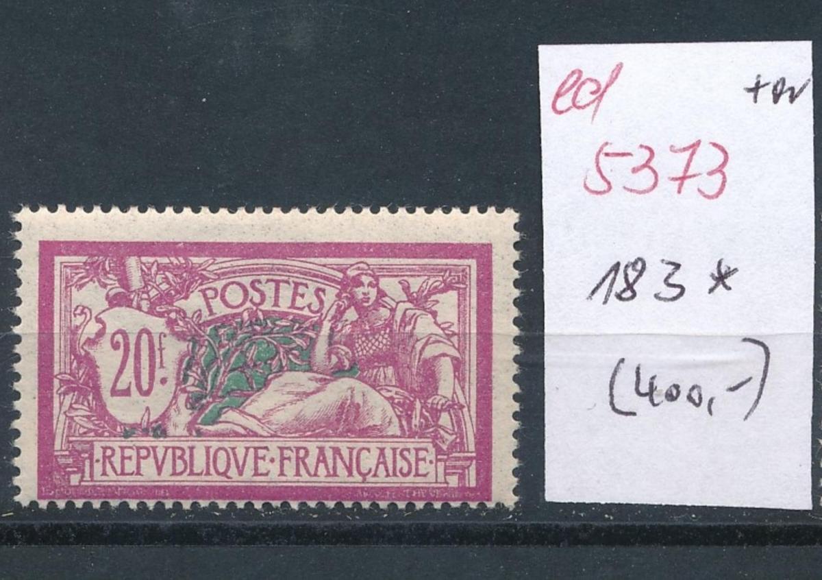 Frankreich Nr.  183   *  (ed5373   ) siehe scan