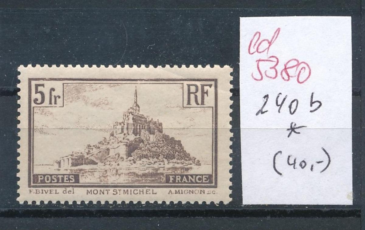Frankreich Nr.  240 b    *  (ed5380   ) siehe scan