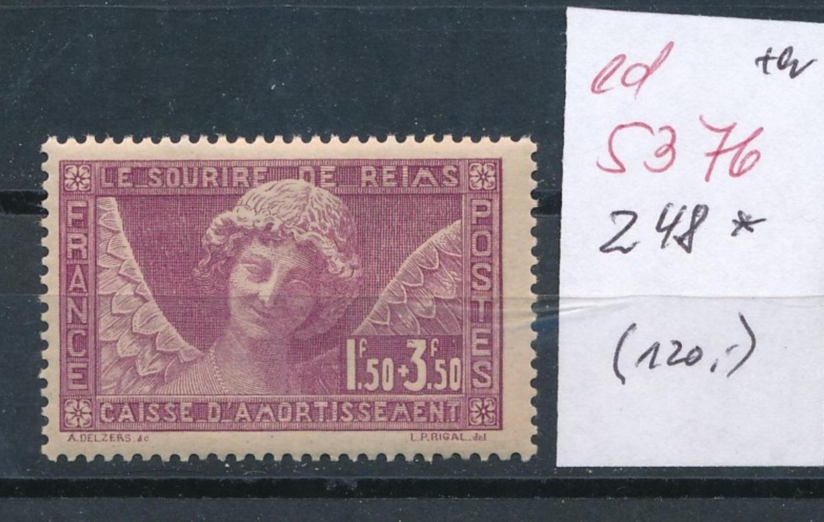 Frankreich Nr.  248   *  (ed5376   ) siehe scan