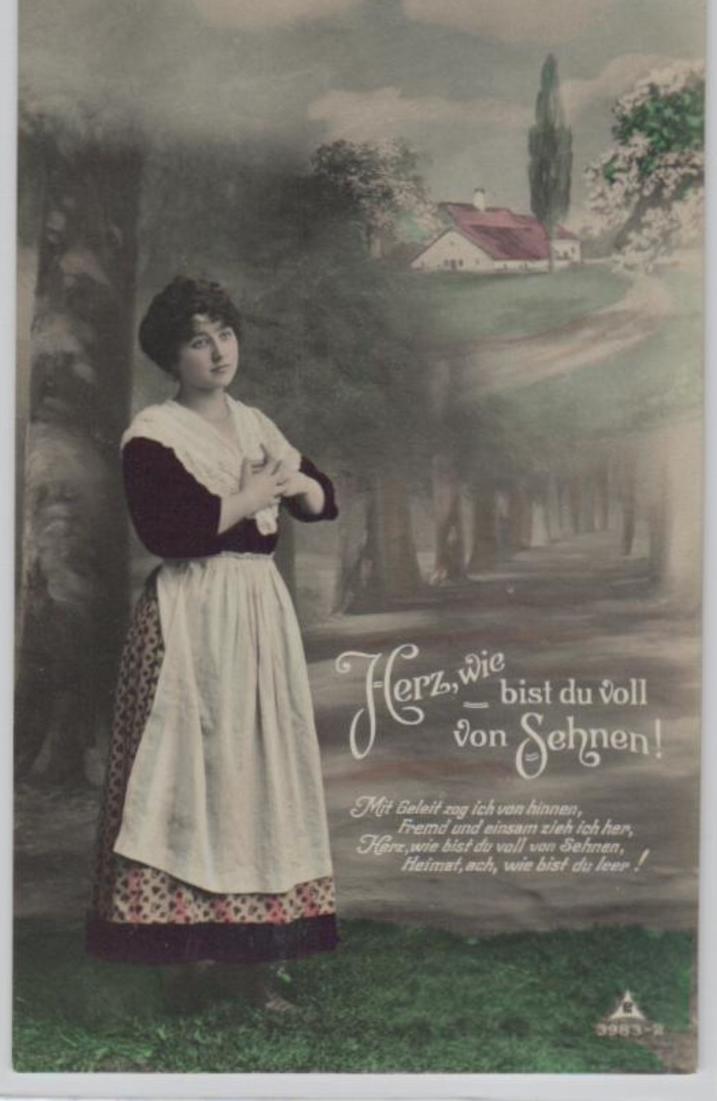 Motiv-Sehnsucht   .....alte  Karte     (ke1841   ) siehe scan