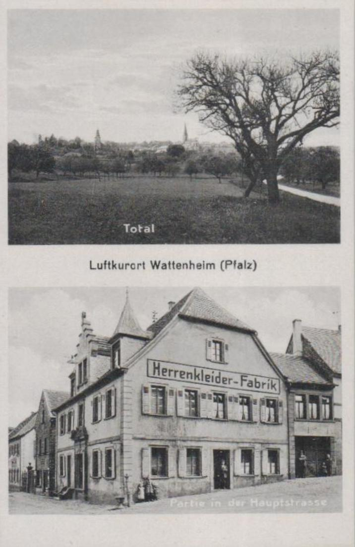 Wattenheim  .....alte  Karte    (ke1663   ) siehe scan
