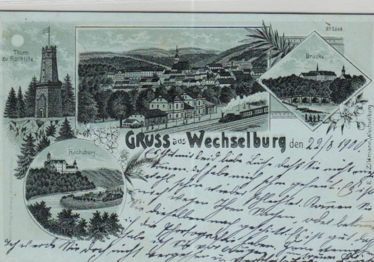 Wechselburg.....alte Litho Karte    (ke2161   ) siehe scan