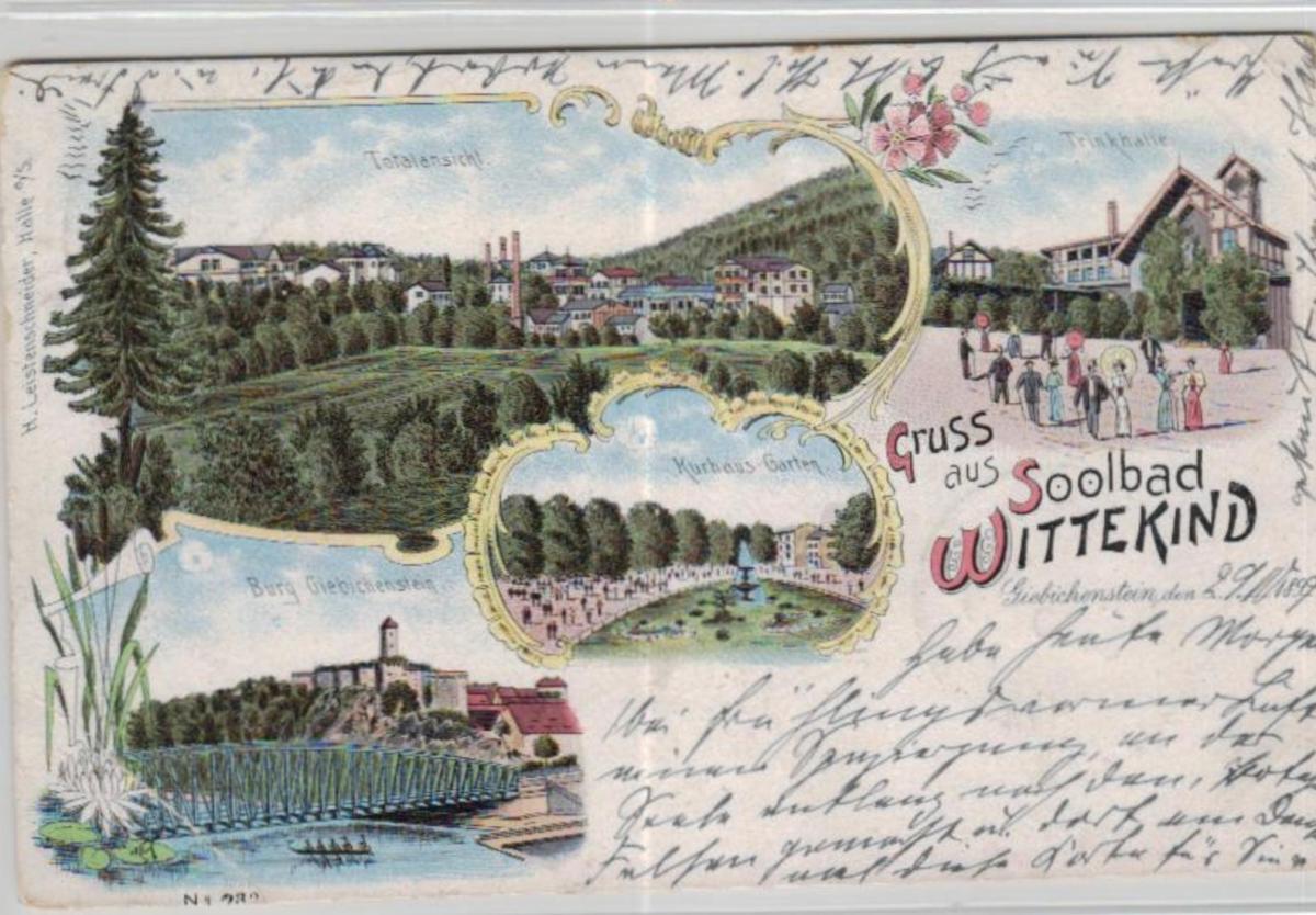 Wittekind    .....alte Litho Karte    (ke2157   ) siehe scan