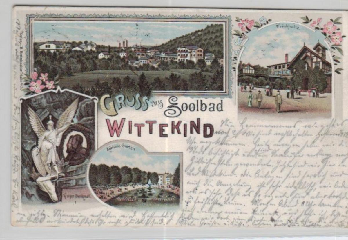 Wittekind    .....alte Litho Karte    (ke2159   ) siehe scan