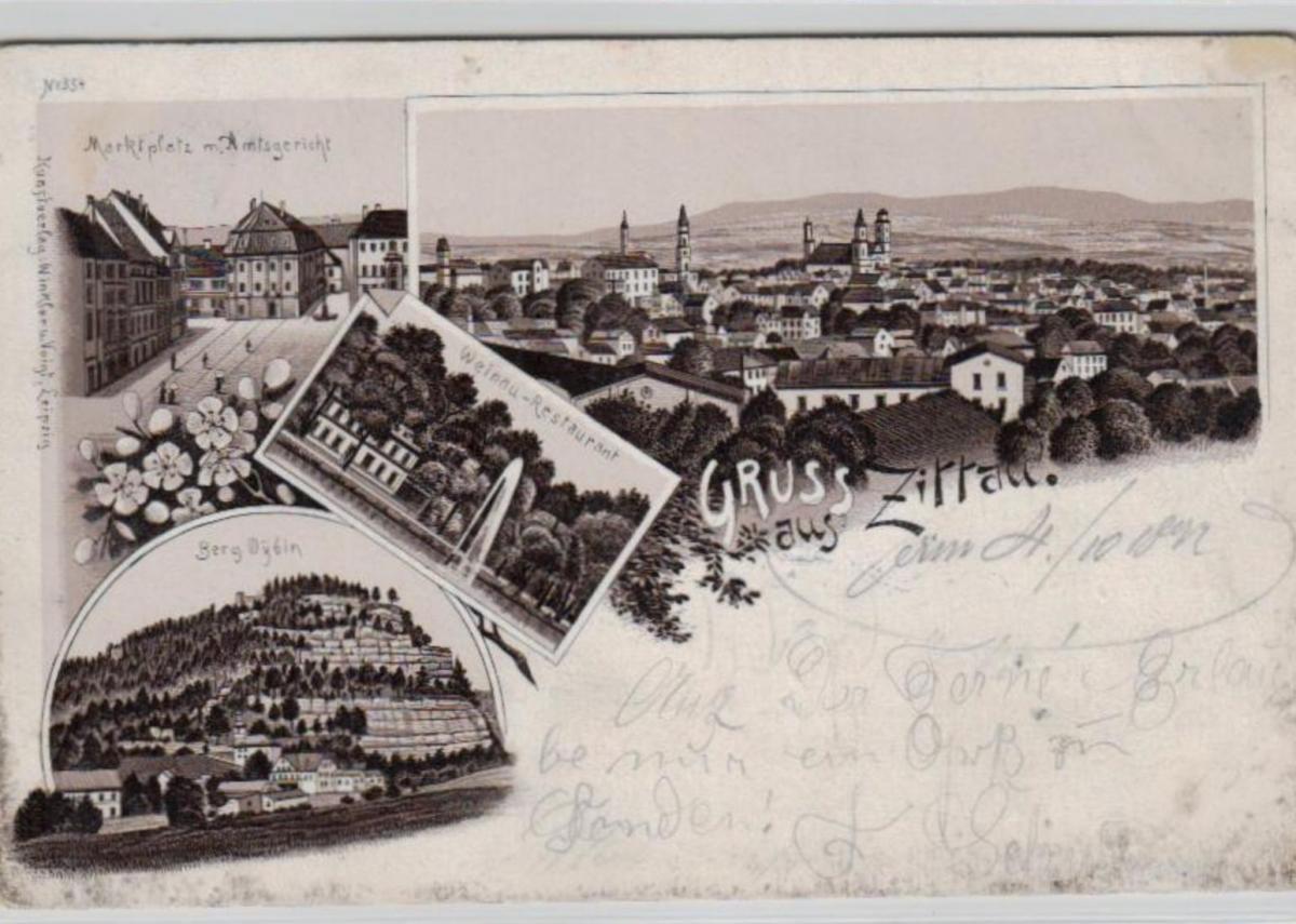 Zittau  .....alte Litho Karte    (ke2357   ) siehe scan