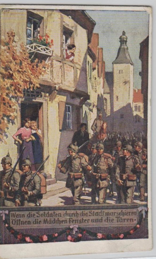 Motiv Militär .....alte Karte   (ke3375   ) siehe scan
