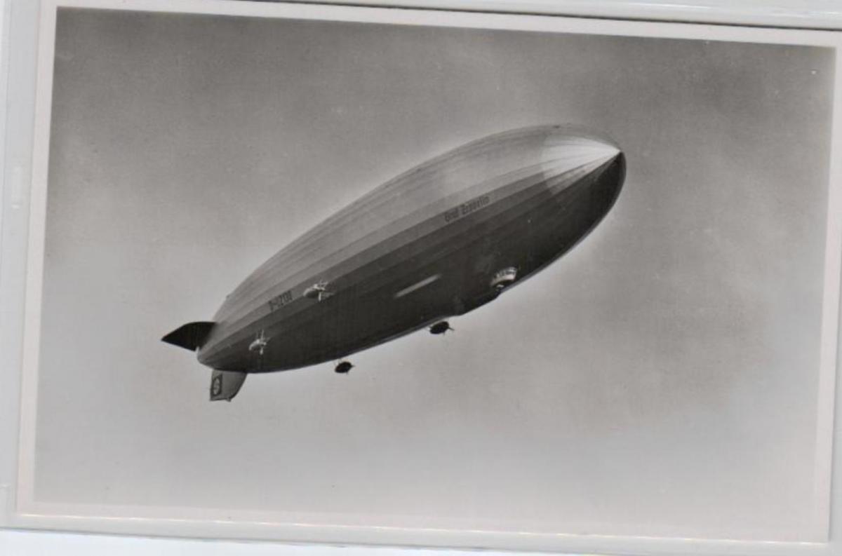 Motiv Zeppelin .....alte Karte   (ke3403   ) siehe scan