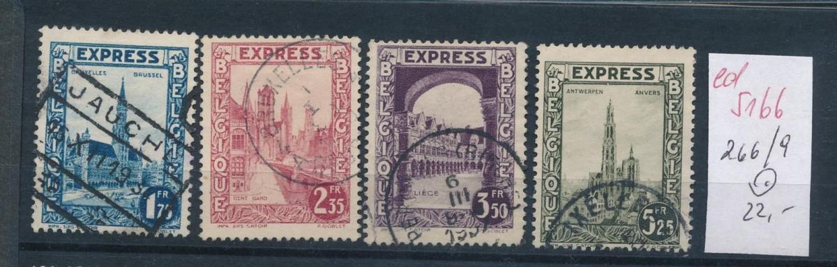 Belgien Nr. 266-9  o   (ed5169  ) siehe scan