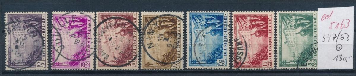 Belgien Nr. 347-53  o   (ed5163  ) siehe scan