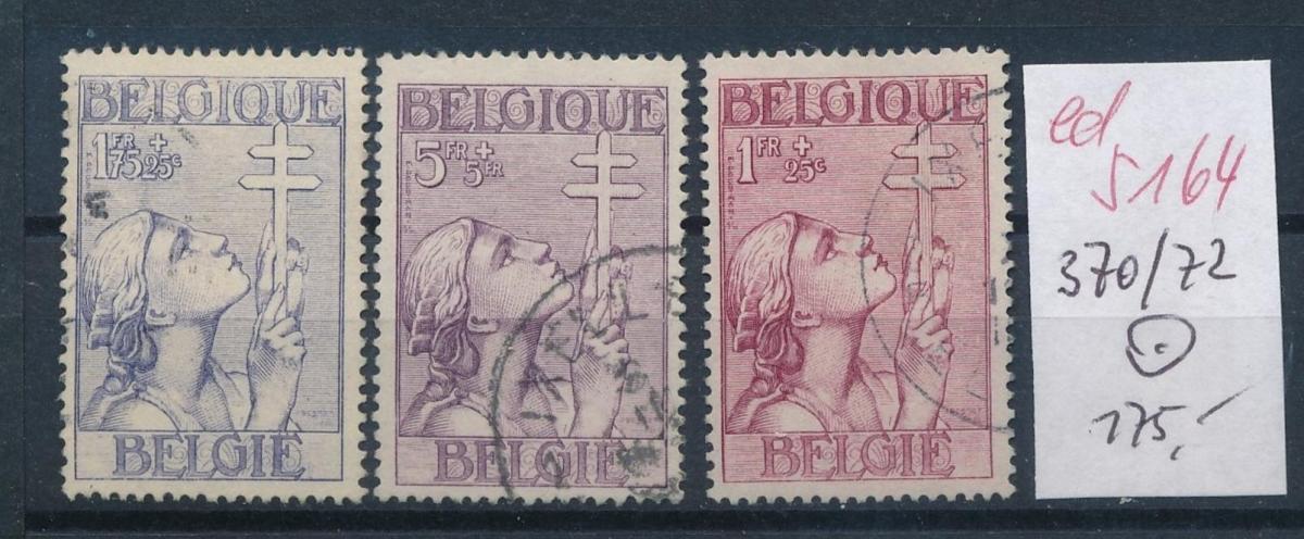 Belgien Nr. 370-72   o   (ed5164  ) siehe scan