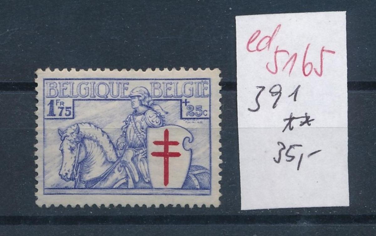 Belgien Nr. 391  *    (ed5165  ) siehe scan