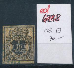 Hannover Nr. 12  o   (ed6278  ) siehe scan