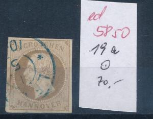Hannover Nr. 19 a  o   (ed5850  ) siehe scan