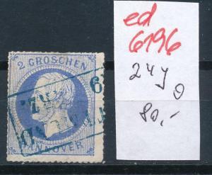 Hannover Nr. 24y  o  (ed6196  ) siehe scan