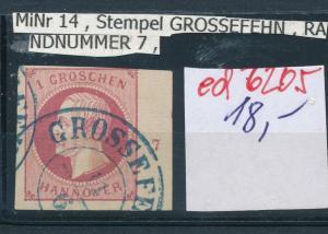 Hannover Nr. Randnummer   (ed6205  ) siehe scan