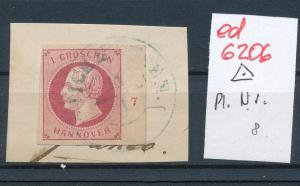 Hannover Nr. Randnummer   (ed6206  ) siehe scan