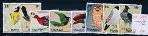 Ruanda Vögel  1019-26 **  (ed5857  ) siehe scan