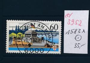 BRD Nr. 1583  X o   (ed5952  ) siehe scan