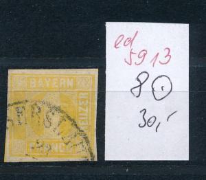 Bayern Nr. 8   o ......  (ed5913  ) siehe scan