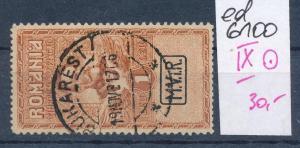 D.-Post Rumänien Nr.  IX  o (ed6100  ) siehe scan