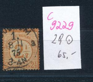 D.-Reich Nr. 29 o    o..  (c9229  ) siehe scan