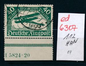 D.-Reich Nr. 112  HAN    (ed6307  ) siehe scan