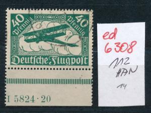 D.-Reich Nr. 112  HAN    (ed6308  ) siehe scan