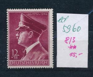 D.-Reich Nr. 813    **   (ed5960  ) siehe scan