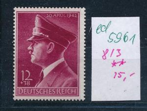 D.-Reich Nr. 813    **   (ed5961  ) siehe scan